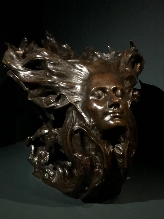 Victor Prouvé La nuit 1894