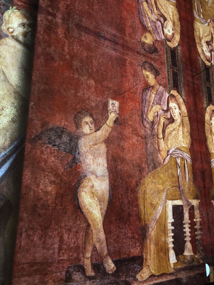 reconstitution de fresques