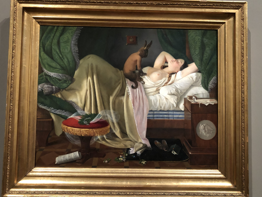 Ditlev Blunck Le cauchemar 1846
