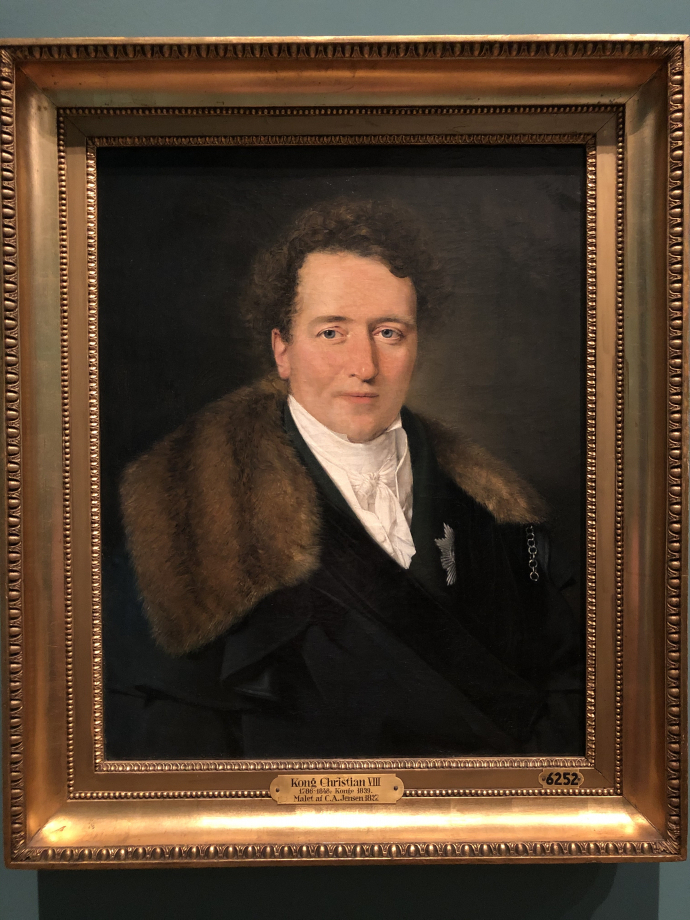 Christian Albrecht Jensen Le Prince Christian Frederik, futur Christian VIII 1827