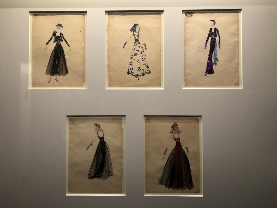 Dessins de modèles de Christian Bérard