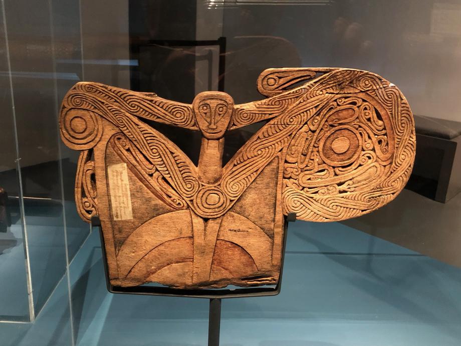 Brise-lames de pirogue Début du XIXè siècle Papouasie-Nouvelle-Guinée The British Museum, Londres