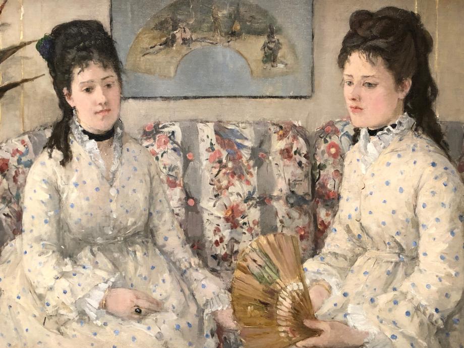 Les Soeurs dit aussi Deux soeurs sur un canapé - 1869 Washington, National Gallery Art