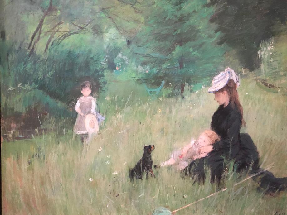 Sur l'herbe dit aussi Sur la pelouse ou Dans le partc - vers 1874 Paris, Petit Palais, musée des Beaux-Arts de la ville de Paris