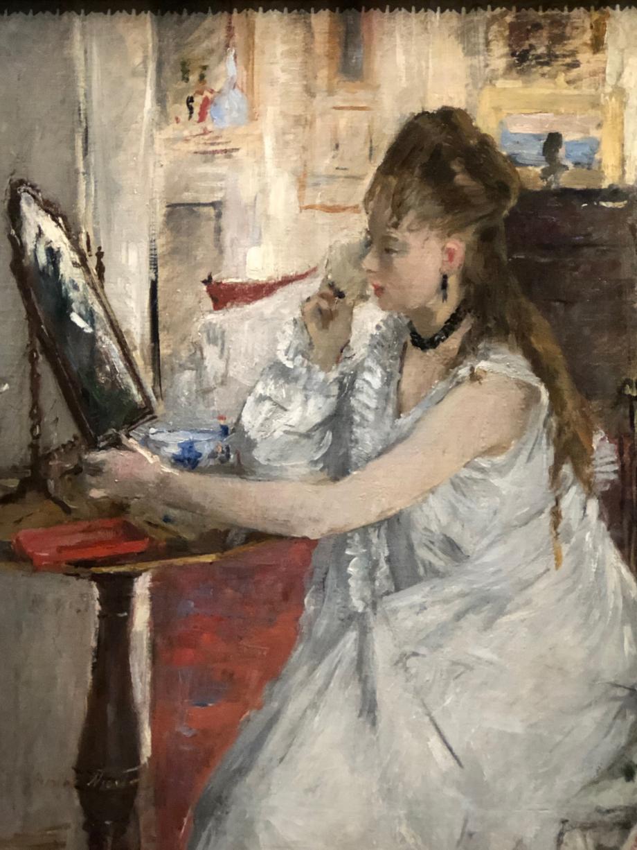 Jeune femme se poudrant - 1877 Paris, Musée d'Orsay