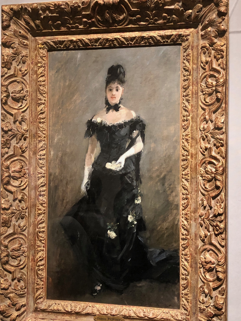 Figure de femme dit aussi Femme en noir (Avant le Théâtre) - 1875 Tokyo, The National Museum of Western Art