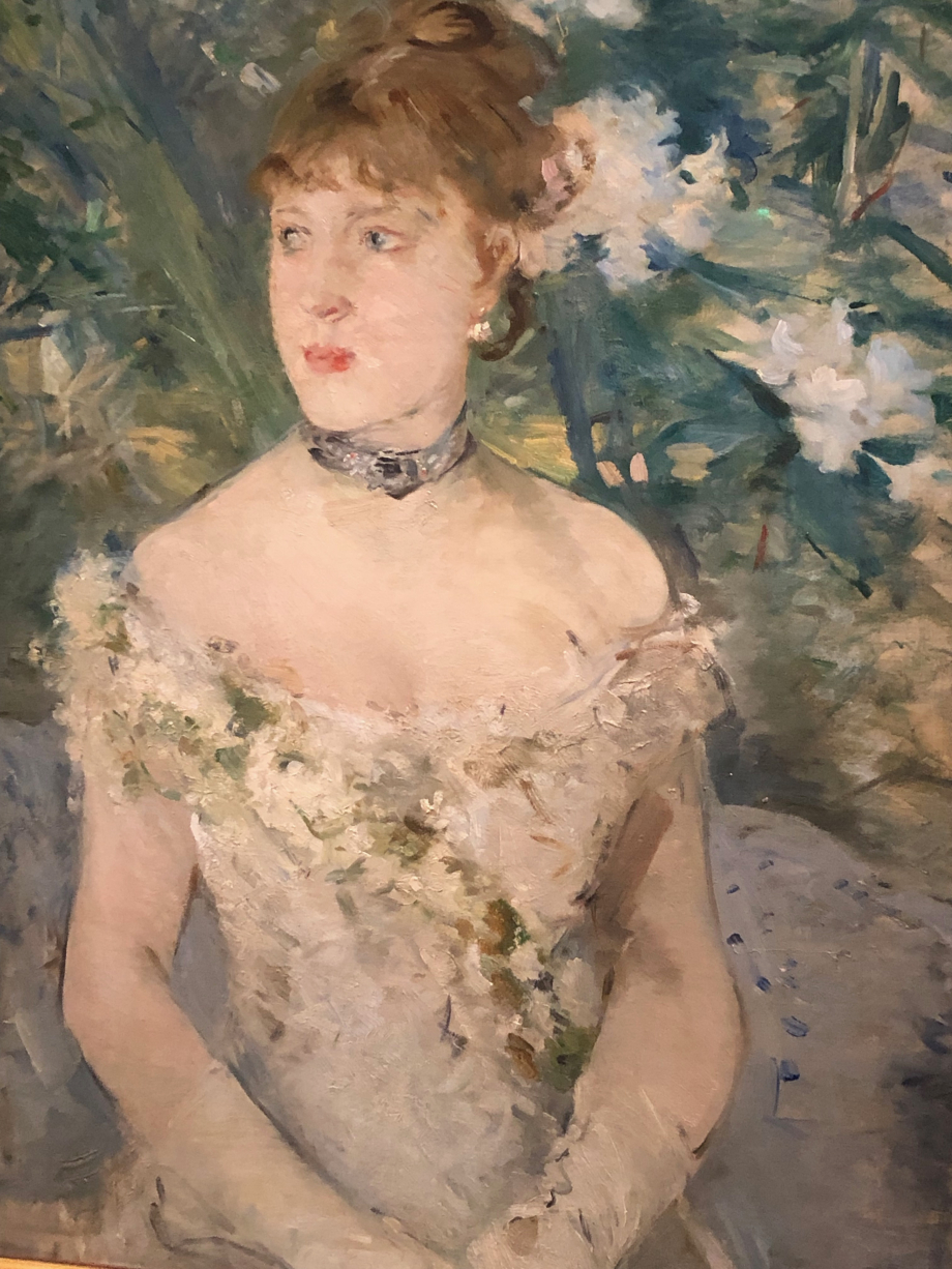 Portrait dit aussi Jeune Femme en toilette de bal - 1879 Paris, Musée d'Orsay