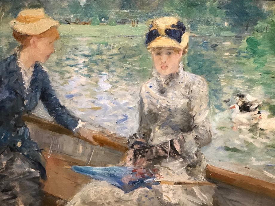 Le Lac du bois de Boulogne dit aussi Jour d'Été - vers 1879 Londres, The National Gallery