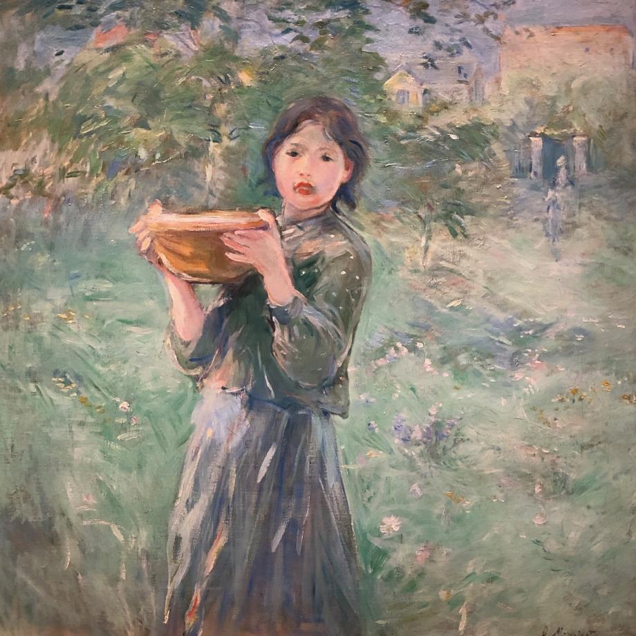 La Jatte de lait - 1890 Collection particulière