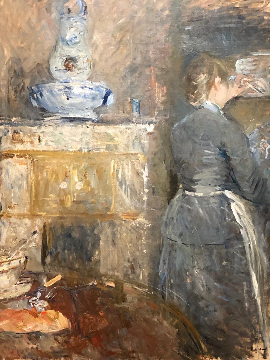 Dans la salle à manger - 1880 Collection particulière