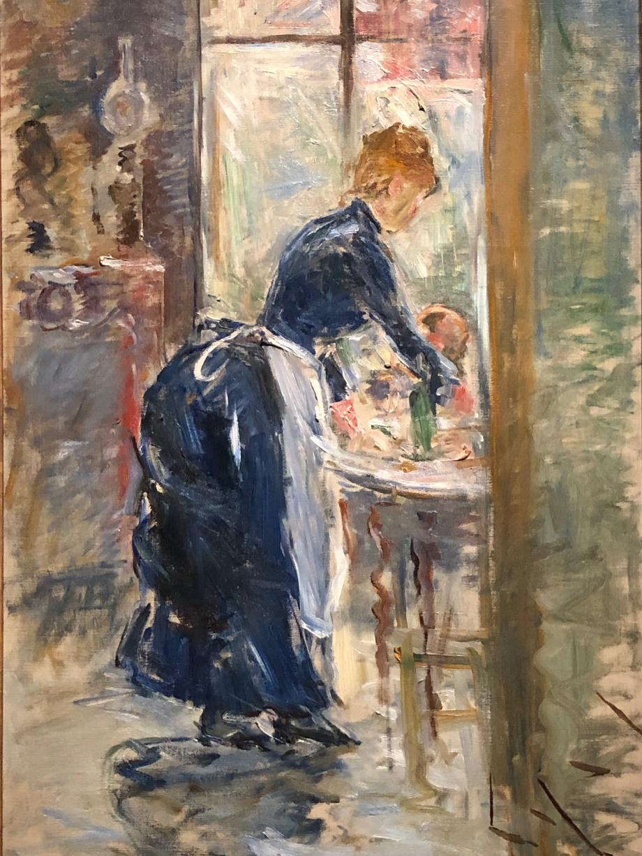 La Petite Servante - 1886 Londres, Collection particulière