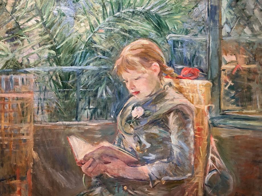 La lecture - 1889 St Petersburg (Floride) Museum of Fine Arts