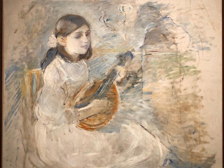 Fillette à la mandoline - 1890 Collection particulière