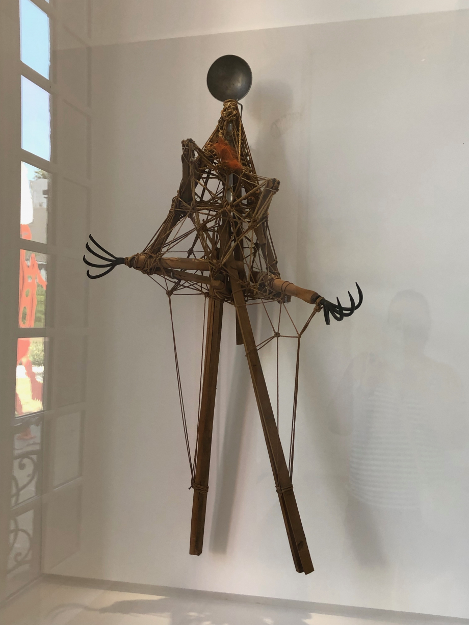 Picasso Figure (louche, griffes, bois, ficelle et clous) 1935 Musée National Picasso Paris
