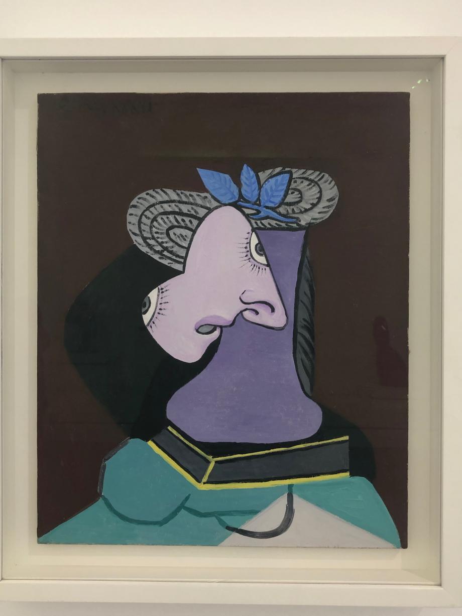 Picasso Le chapeau de paille au feuillage bleu 1er mai 1936 Musée National Picasso Paris