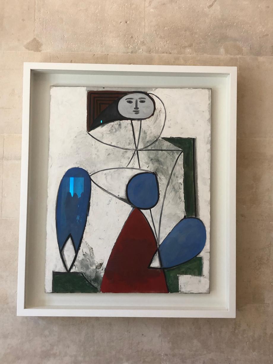 Picasso Femme dans un fauteuil 2 avril 1947 Musée National Picasso Paris