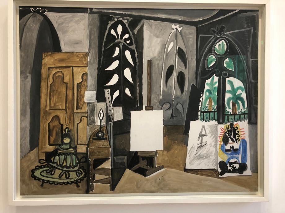 Picasso L'Atelier de la Californie 30 mars 1956 Musée National Picasso Paris