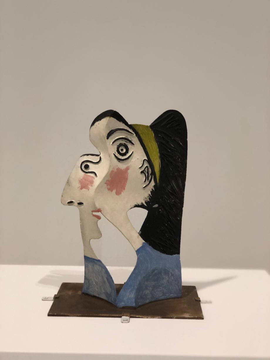 Picasso Tête de femme vers 1962 Musée National Picasso Paris