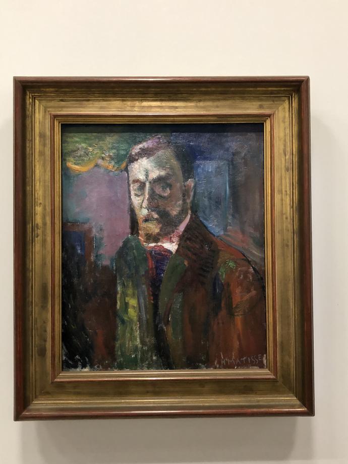 Autoportrait, 1900 Centre Pompidou