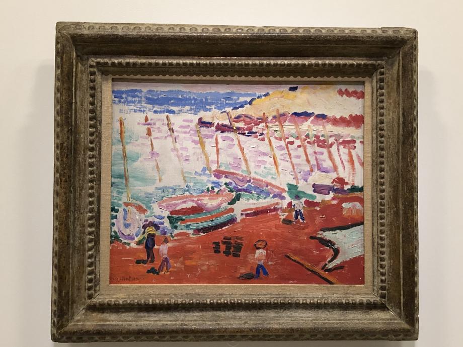 La plage rouge, 1905 Collection particulière