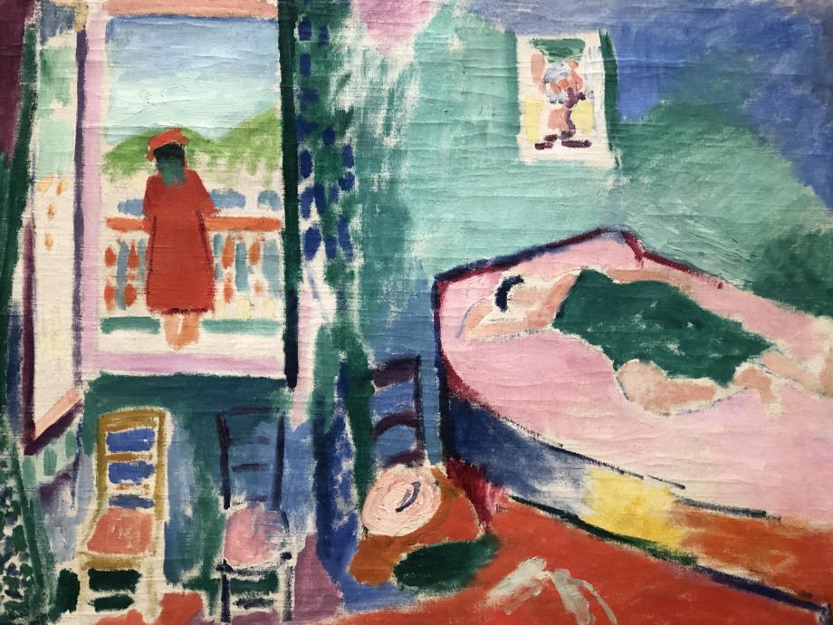 Intérieur à Collioure (la sieste) 1905 Merzbacher kunststiftung
