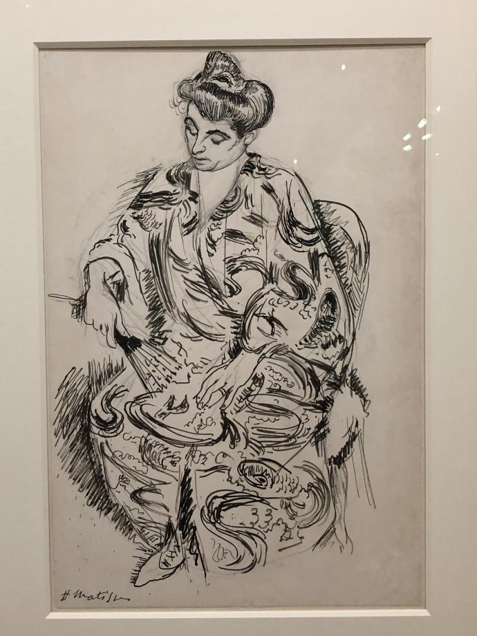 Madame Matisse en kimono, 1905 Collection particulière