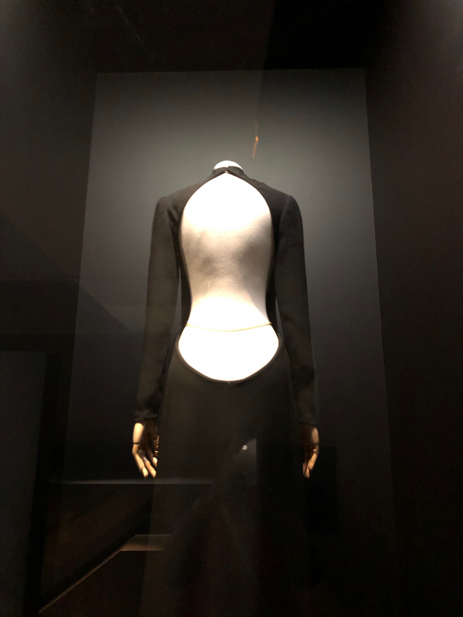Guy Laroche Robe du soir Haute couture 1972 Robe portée par Mireille Darc dans