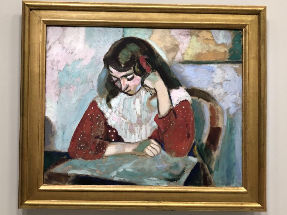 Marguerite lisant, 1906 Musée de Grenoble