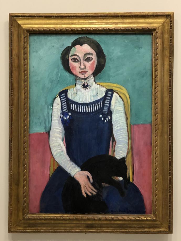 Marguerite au chat noir, 1910 Centre Pompidou