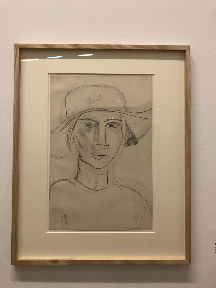 Portrait de Greta Prozor, 1916 Centre Pompidou
