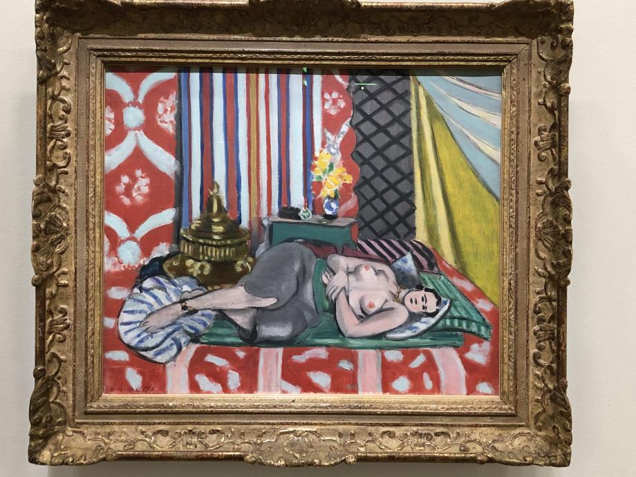 Odalisque à la culotte grise 1926-1927 Musée de l'Orangerie