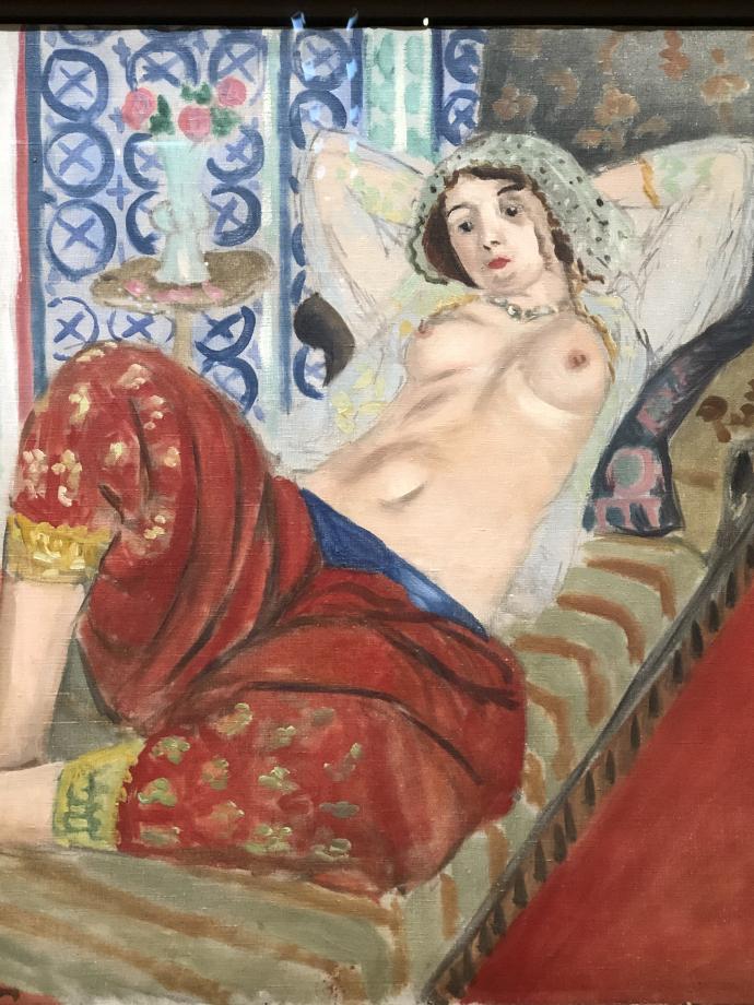Odalisque à la culotte rouge, 1921 Centre Pompidou