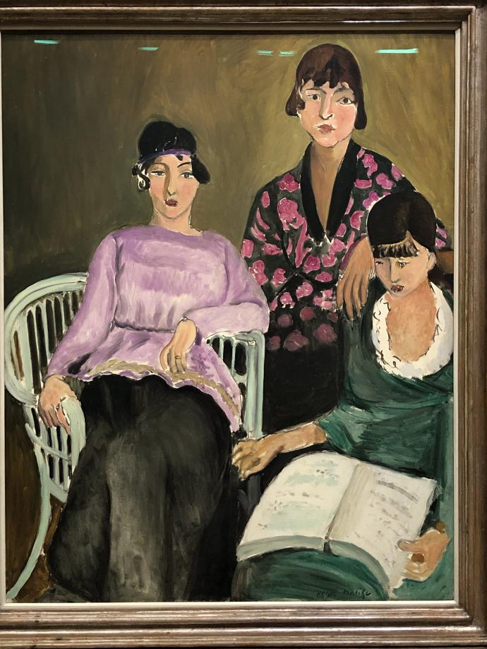 Les Trois Soeurs, 1917 Musée de l'Orangerie