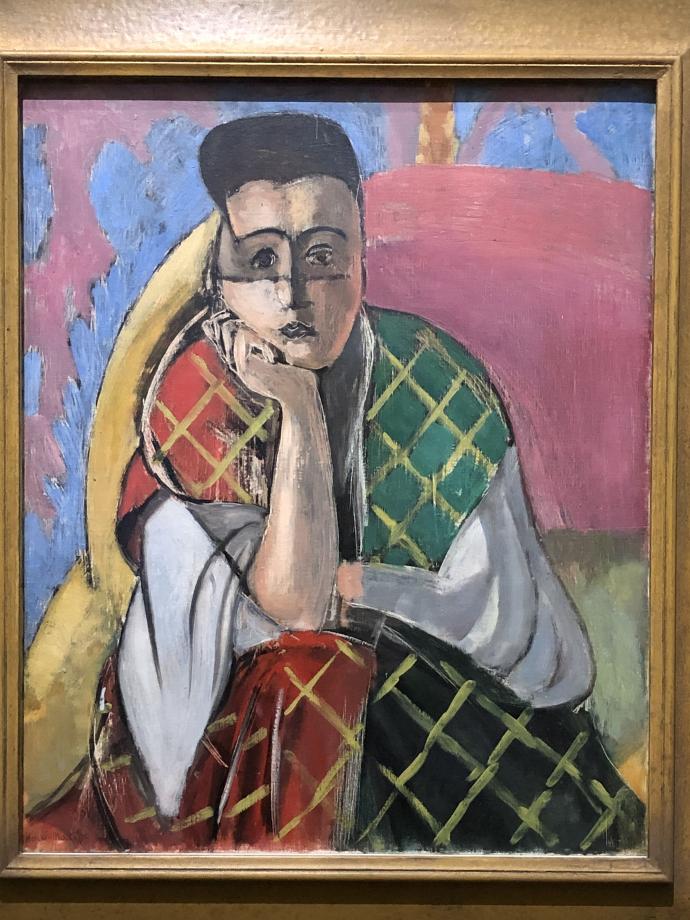 Femme à la voilette, 1927 The Museum of Modern Art, New-york