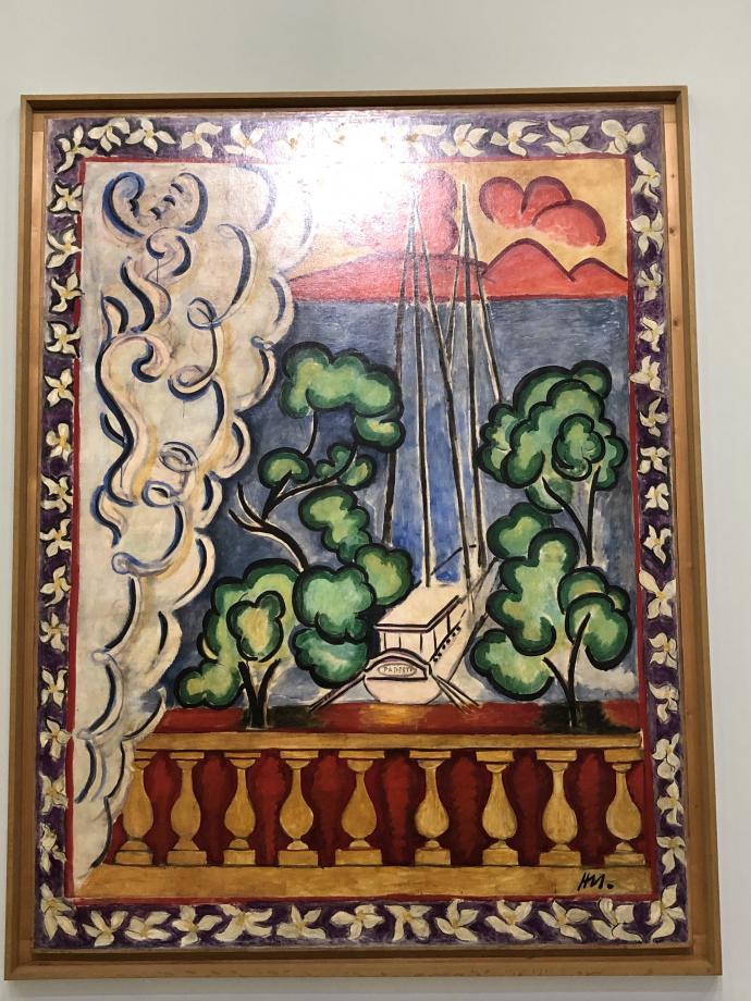 Papeete-Tahiti (fenêtre à Tahiti ; Tahiti I), Nice, 1935 Musée Matisse, Nice