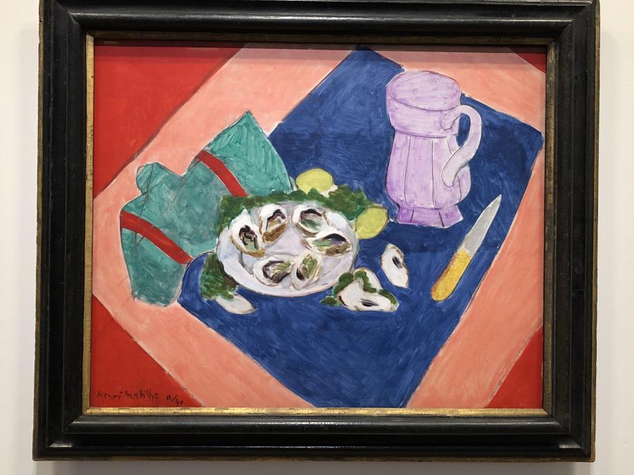 Nature morte aux huîtres, 1940 Kunstmuseum, Bâle