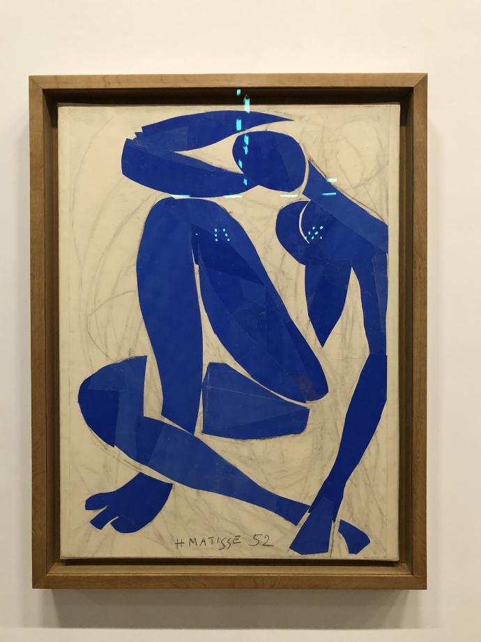 Nu bleu IV, 1952 Musée d'Orsay