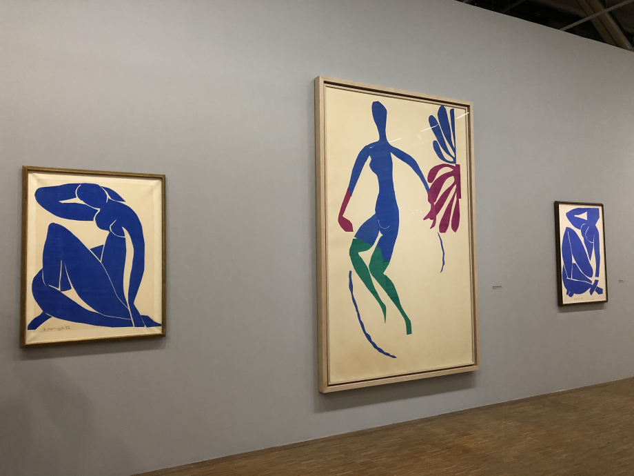 Nu bleu II, 1952 Centre Pompidou