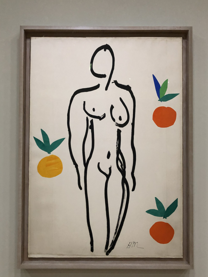 Nu aux oranges, 1953 Centre Pompidou