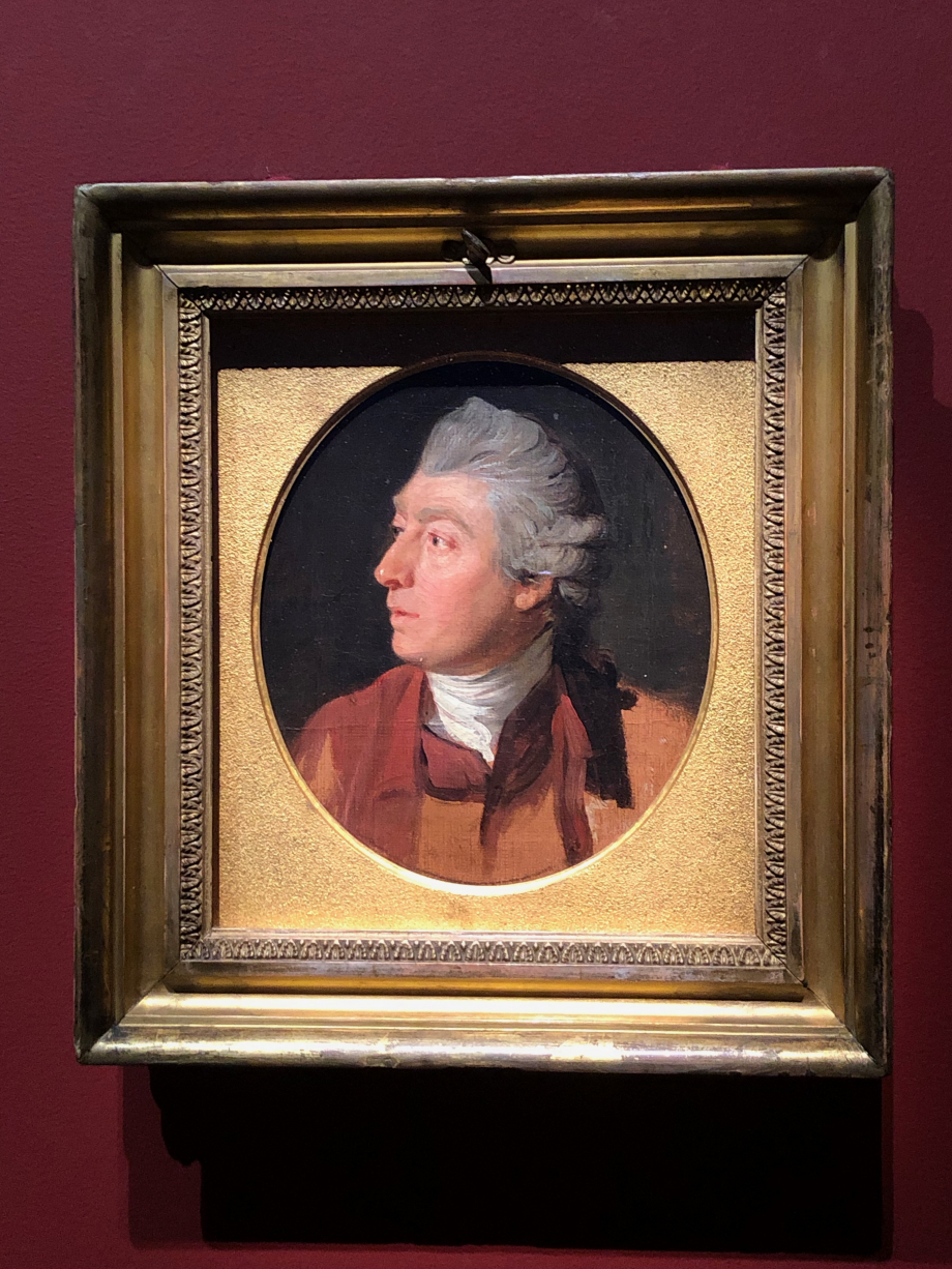 Thomas Gainsborough par Johan Zoffany vers 1772