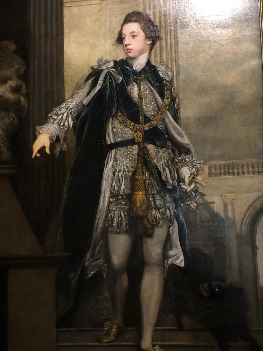 Joshua Reynolds Frederic Howard 5è Comte de Carlisle 1769 Londres, Tate