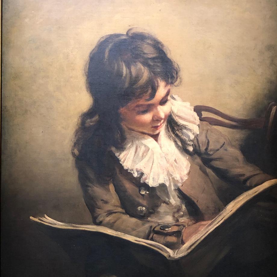 Ramsay Richard Reinagle Garçon lisant vers 1795 Londres, Tate