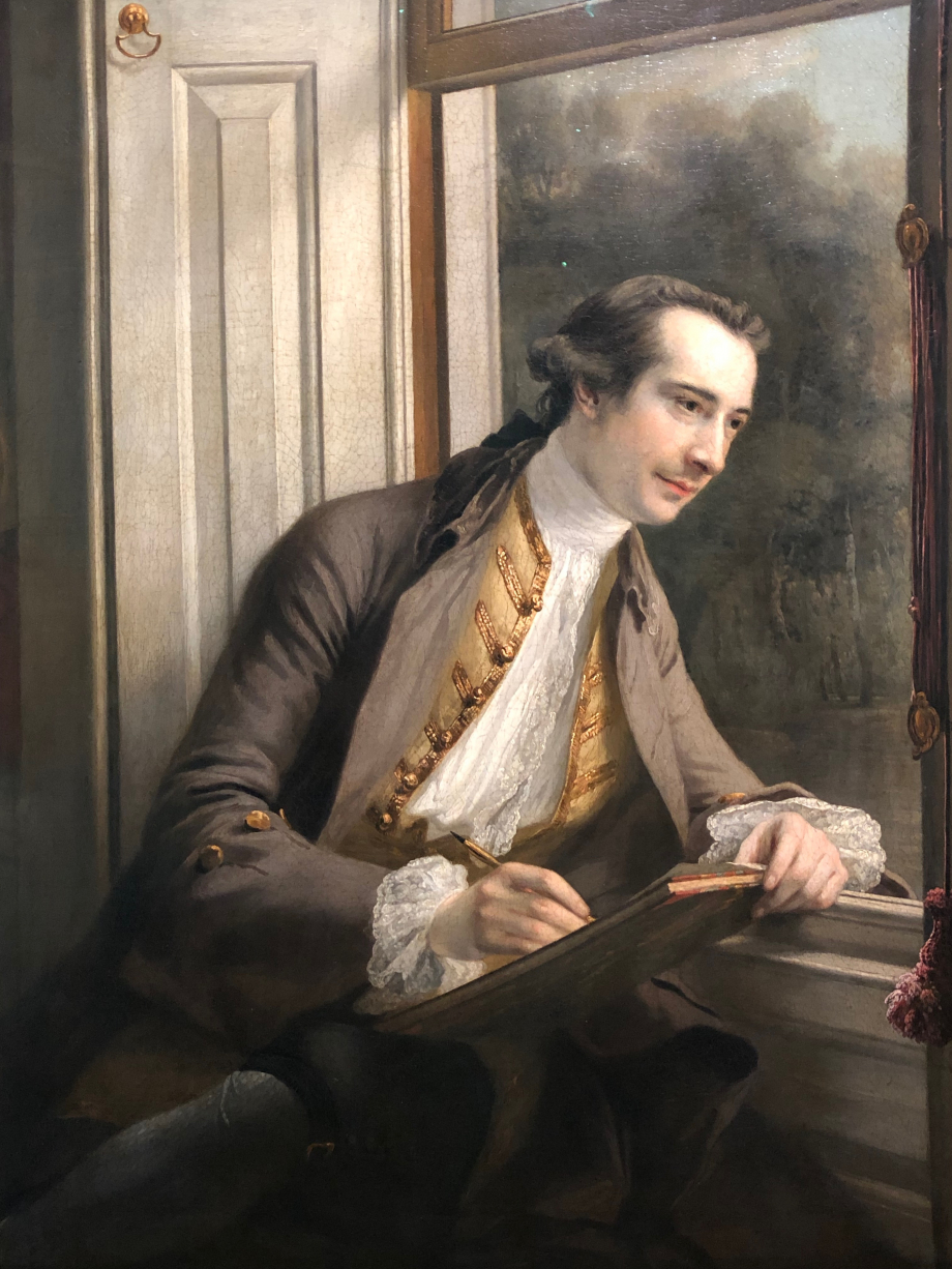 Francis Cotes Paul Sandby 1761 Londres, Tate