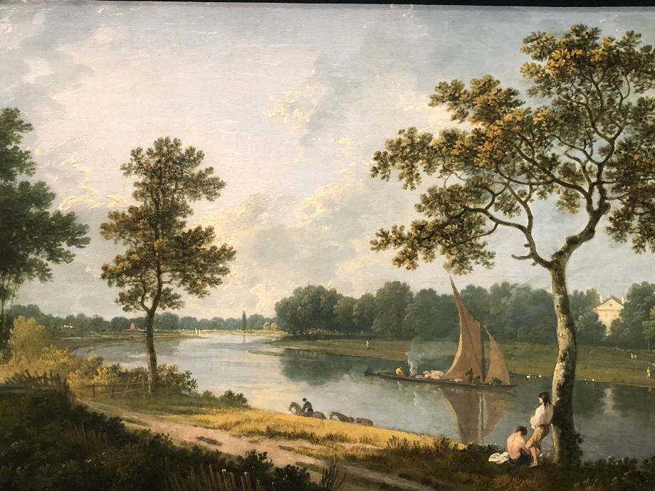 Richard Wilson La Tamise près de Marble Hill, Twickenham vers 1762 Londres, Tate