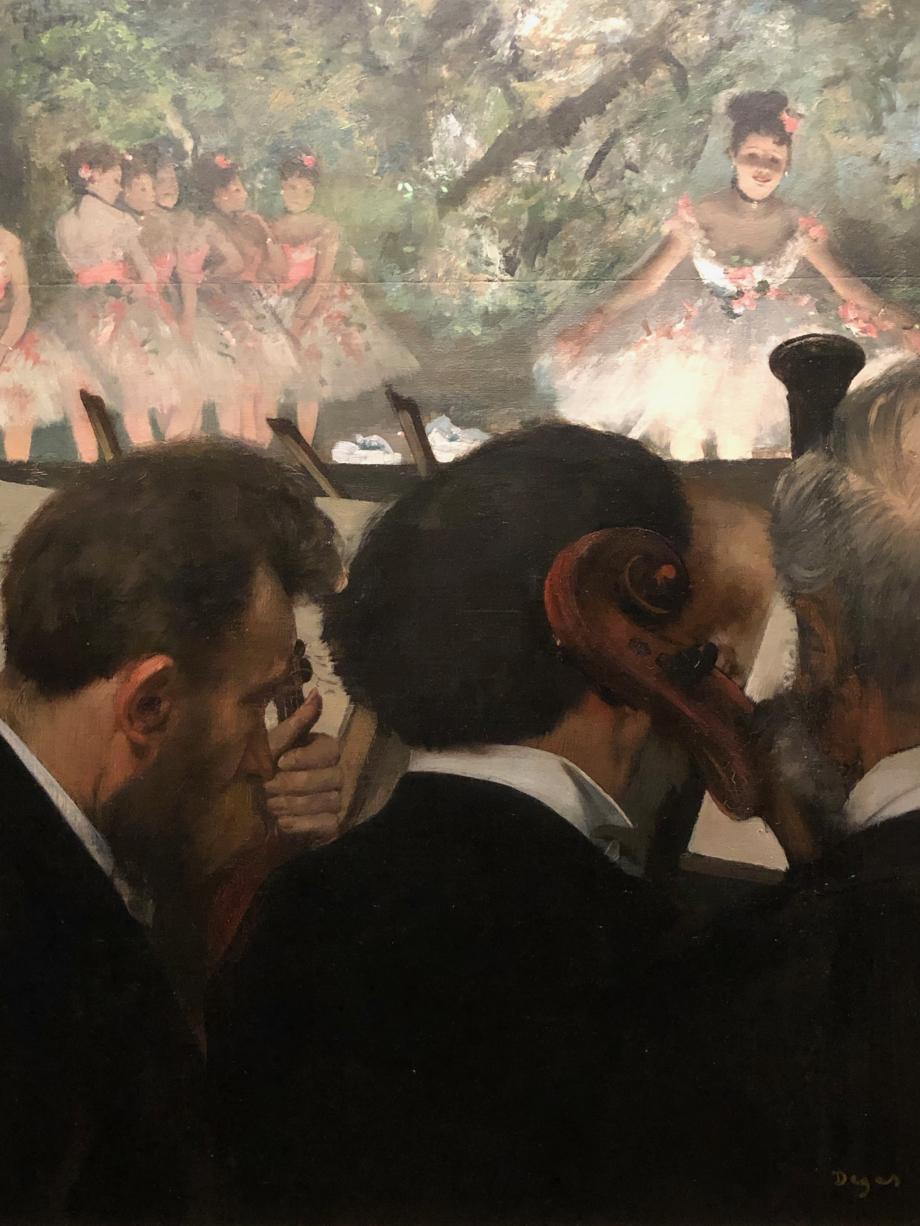 Les musiciens 1872 1873 repris vers 1874 1876 Frankfort-sur-le-Main, Städel Museum