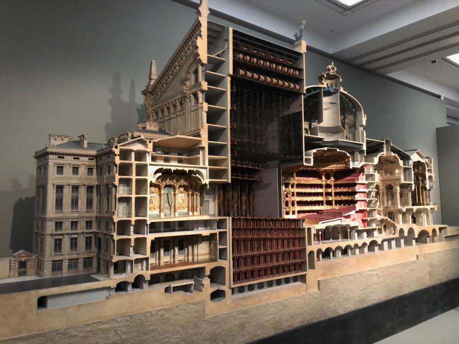 Maquette de l'Opéra Garnier