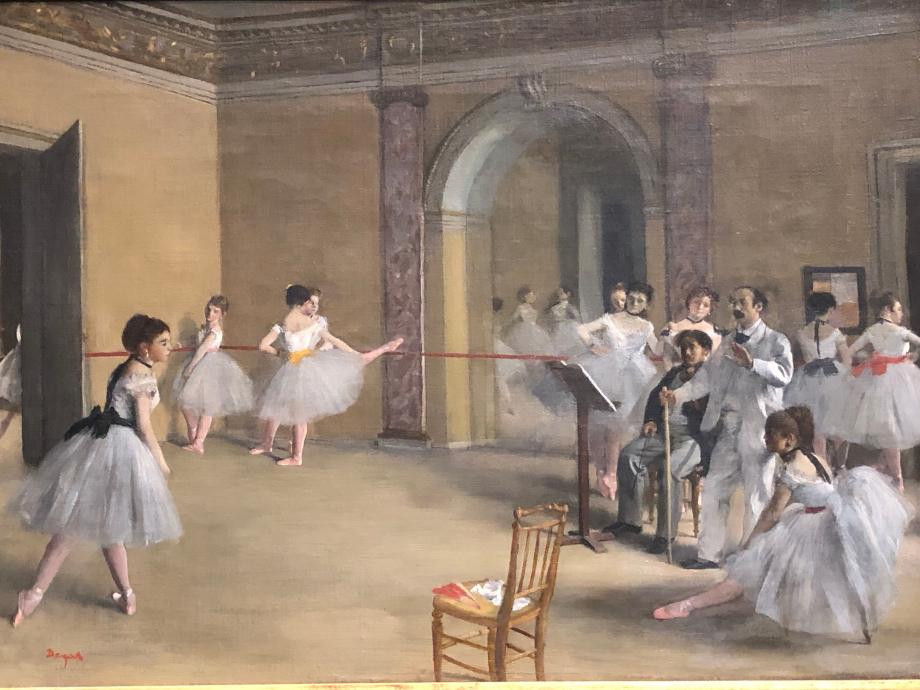 La leçon de danse 1872 Paris, Musée d'Orsay