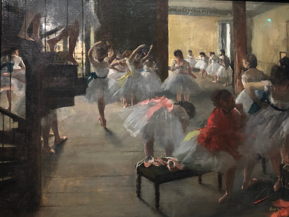 La classe de danse