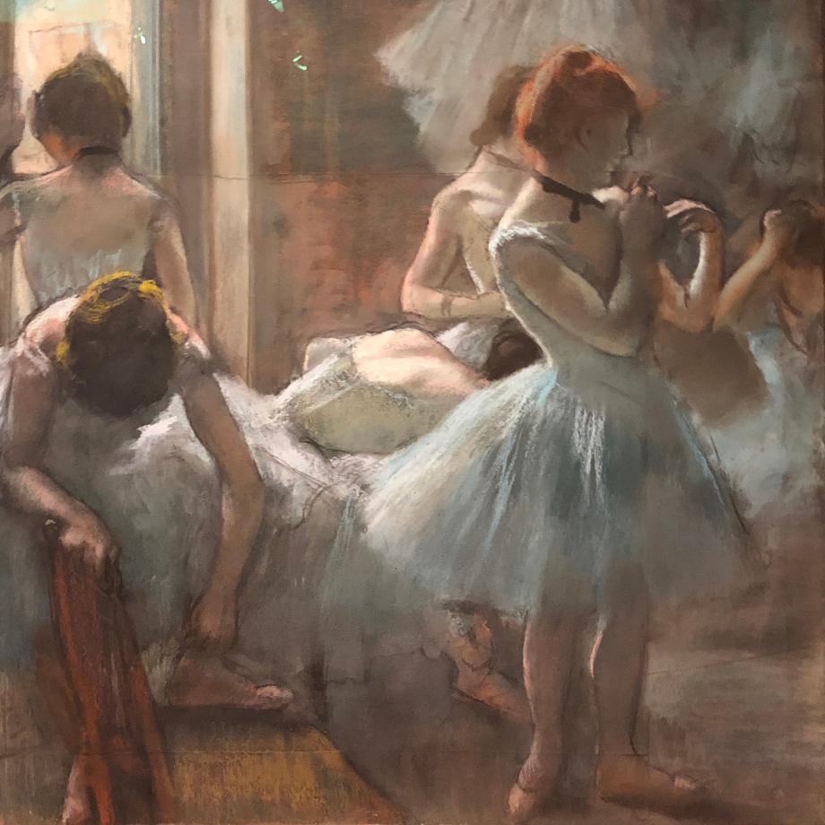 Danseuses 1884 1885 Paris, Musée d'Orsay