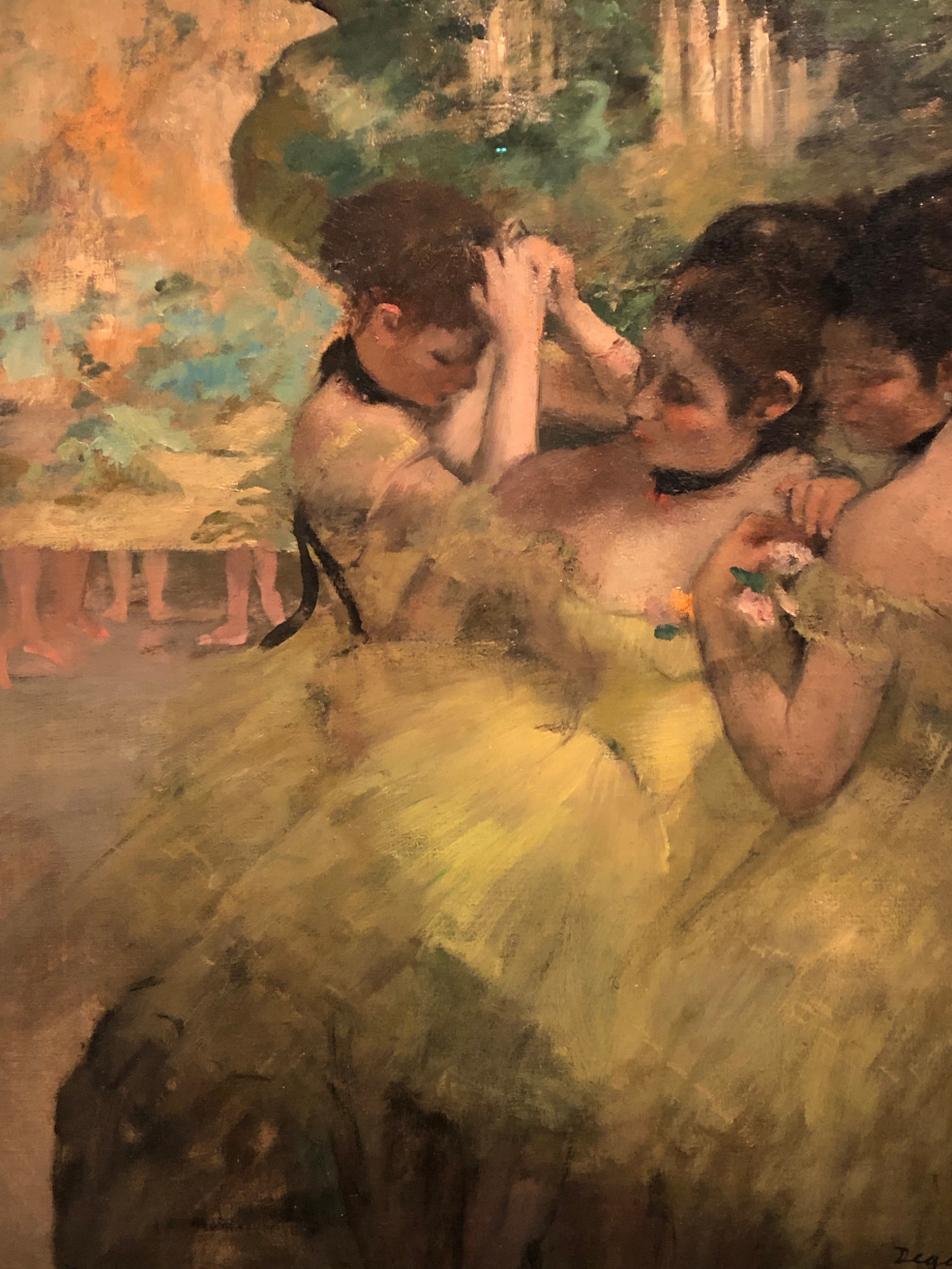 Coulisses (dit aussi Danseuses Jaunes)